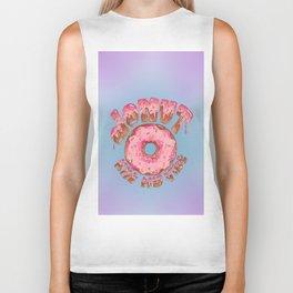 Donut Kill My Vibe Biker Tank