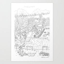 beegarden.works 013 Art Print