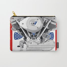 Old School Portuguese Biker Carry-All Pouch