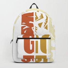 Gone Surfing - Surfer Vintage Backpack