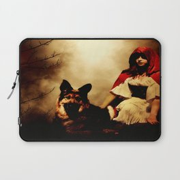 Red and Her Wolf Laptop Sleeve