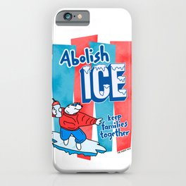 Abolish ICE iPhone Case