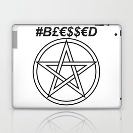 TRULY #BLESSED INVERSE Laptop & iPad Skin