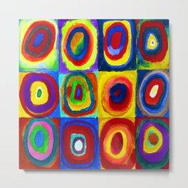 Wassily Kandinsky Color Study Metal Print