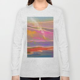Adventure in the Volcanic Lands - Fumarole Long Sleeve T-shirt