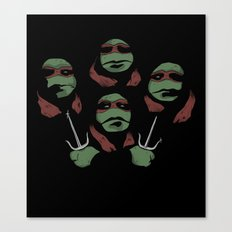 Ninja Rhapsody Canvas Print
