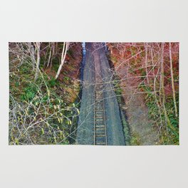 Down the Tracks Rug