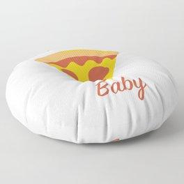 Food Slice Slice Baby Funny Pizza Pun Floor Pillow