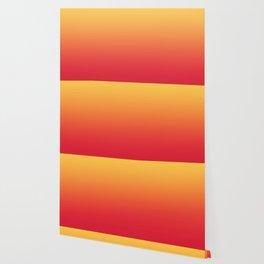 Summer Pattern Ombre Yellow Orange Red Gradient Texture Wallpaper