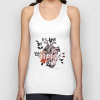 coconutwishes Tank Tops featuring Drag Me Down by Coconut Wishes