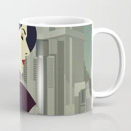 Girl Retro Style 12 Coffee Mug