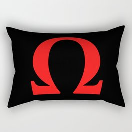 Ω omega Rectangular Pillow