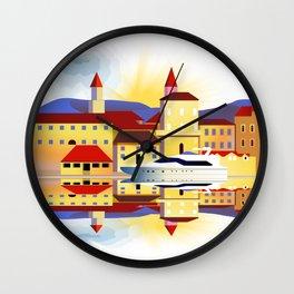 Dalmatia Wall Clock