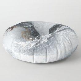 water dragon  Floor Pillow
