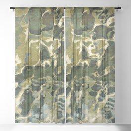 Camo Sheer Curtain
