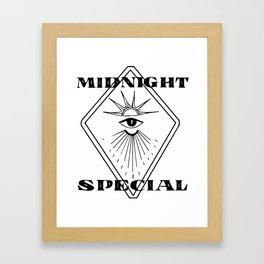 Midnight Special Framed Art Print