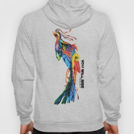 The Phoenix   You Will Rise Hoody