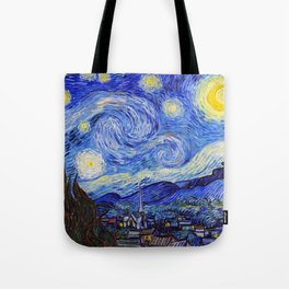 "Vincent Van Gogh "" Starry Night "" Tote Bag"
