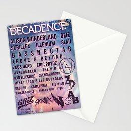Decadence NYE Denver 2018 Stationery Cards