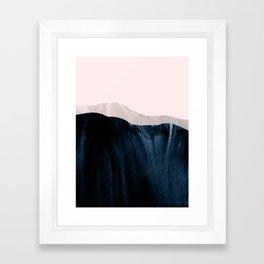 igneous rocks 1 Framed Art Print