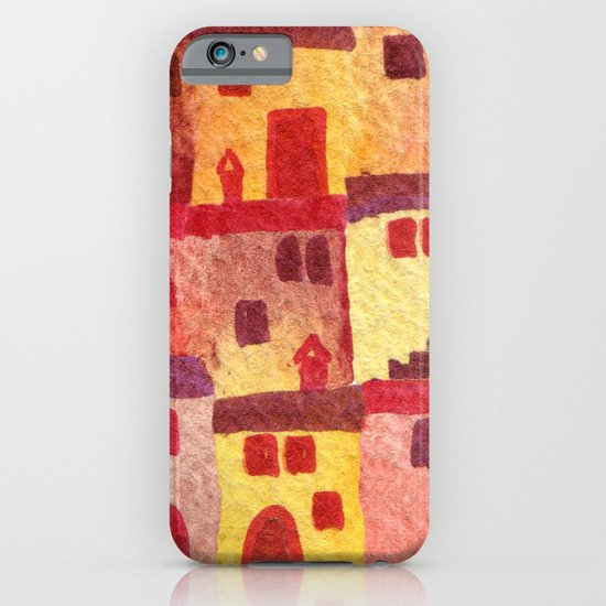 Tuscan Holiday iPhone & iPod Case