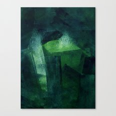 Crystal Evaporating in a Full Void Canvas Print
