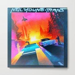 neil young trans 2021 Metal Print