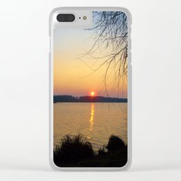 Sunset 1 Photography Clear iPhone Case
