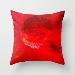 Abstract Apocalypse by Robert S. Lee Throw Pillow