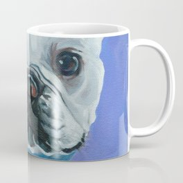 French Bulldog Portrait Painting Coffee Mug