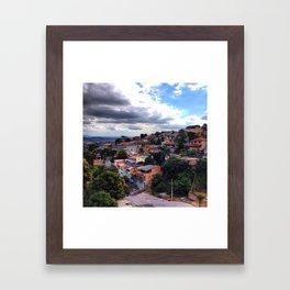 Belo Horizonte Brazil Framed Art Print