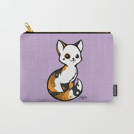 Yinyang Sister: Tortie Carry-All Pouch