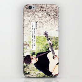 Sam Woolf - The First Someone iPhone Skin