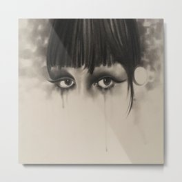 The Eyes  Metal Print