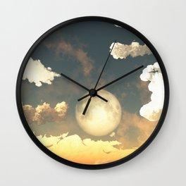 Evening Rise Wall Clock