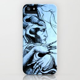Mandrake roots iPhone Case
