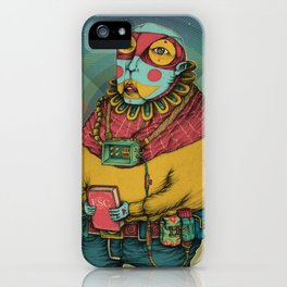 Holy Clown iPhone Case