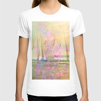 sailboat T-shirts featuring Sailboat Flyby by 3crows