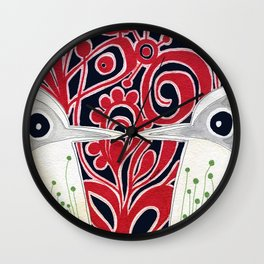 We Connect Wall Clock