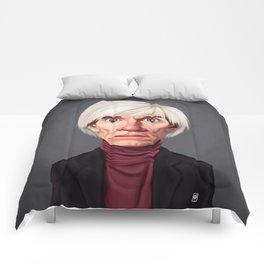 Celebrity Sunday ~ Andy Warhola Comforters