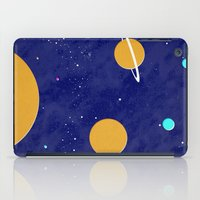 solar system iPad Cases featuring Solar System by Quinn Shipton