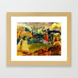 Steering Geo Engineering Framed Art Print