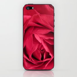 rose spiral iPhone Skin