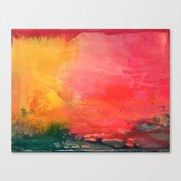 Flamingo Bay Canvas Print