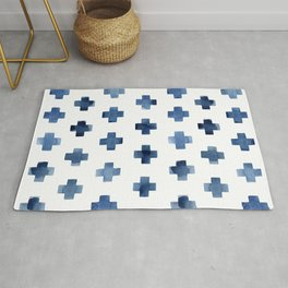 Crosses Scandinavian Pattern Rug