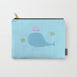 I love swimming in the rain Carry-All Pouch