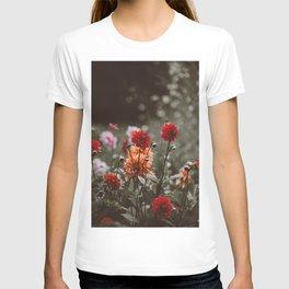 Rustic Floral (Color) T-shirt
