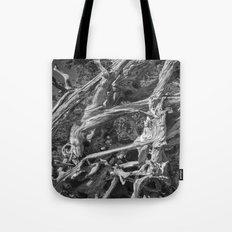 Abstract drift wood Tote Bag
