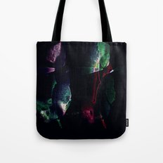 Tropical darkness Tote Bag