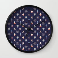 science Wall Clocks featuring Science by Wharton